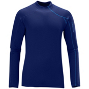 Salomon Fleet II Mens Long Underwear Top, Astral-Astral, medium