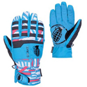 Grenade Fragment Gloves, Teal-Doomvision, medium