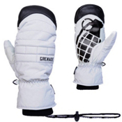 Grenade Exploiter Mittens, Gray, medium