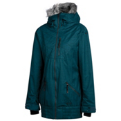 Oakley MFR Womens Insulated Snowboard Jacket, Forest Green, medium