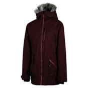Oakley MFR Womens Insulated Snowboard Jacket, Aubergine, medium