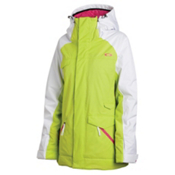Oakley Grete Womens Insulated Ski Jacket, Lighning Green, medium