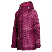 Oakley Grete Womens Insulated Ski Jacket, Magenta Purple, medium