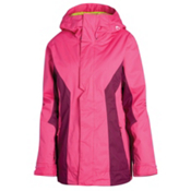 Oakley Resilient Womens Insulated Ski Jacket, Fuchsia, medium