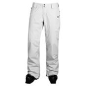 Oakley Fit Womens Ski Pants, White, medium