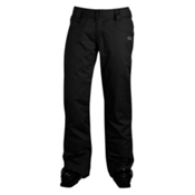 Oakley Fit Womens Ski Pants, Jet Black, medium