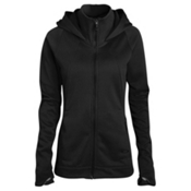 Oakley Malleable Fleece Womens Hoodie, Jet Black, medium