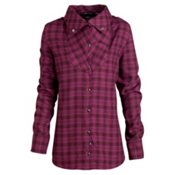 Oakley Carin Flannel, Magenta Purple, medium