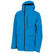 686 Plexus Hydra Thermagraph Mens Insulated Snowboard Jacket, Blue Slub, medium