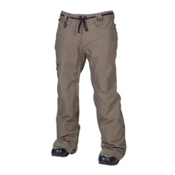 686 Reserved Raw Mens Snowboard Pants, Army Twill Denim, medium