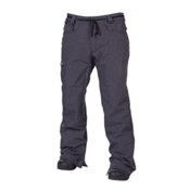686 Reserved Raw Mens Snowboard Pants, Black Twill Denim, medium