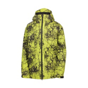 686 Mannual Cracked Mens Insulated Snowboard Jacket, Acid Cracked Skulls, medium