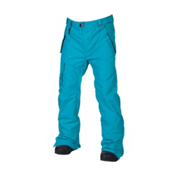 686 Mannual Data Mens Snowboard Pants, Turquoise, medium