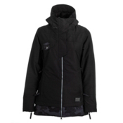 686 Reserved Avalon Womens Insulated Snowboard Jacket, Black Slub, medium