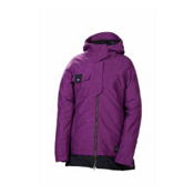 686 Reserved Avalon Womens Insulated Snowboard Jacket, Plum Slub, medium