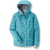 686 Reserved Luster Womens Insulated Snowboard Jacket, Teal Heather Plaid, medium
