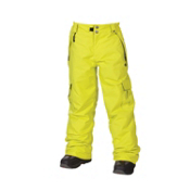686 Mannual Ridge Kids Snowboard Pants, Acid, medium