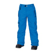 686 Mannual Ridge Kids Snowboard Pants, Blue, medium