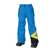 686 Snaggleface Kids Snowboard Pants, Blue, medium