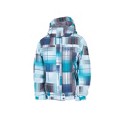 686 Smarty Ginger Girls Snowboard Jacket, Storm Plaid, medium