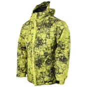 686 Mannual Cracked Boys Snowboard Jacket, Acid Cracked Skulls, medium