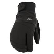 Mens 3 Finger Ski Gloves