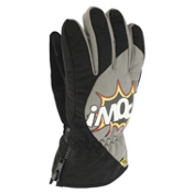 POW Grom Kids Gloves, Black, medium