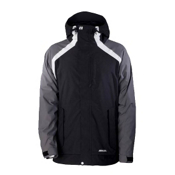 Armada Crevasse Mens Insulated Ski Jacket, Black, medium