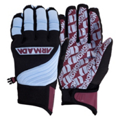 Armada Throttle Pipe Gloves, Maroon, medium