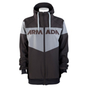 Armada Rekon Softshell 2L Hoodie, Black, medium