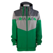 Armada Rekon Softshell 2L Hoodie, Green, medium