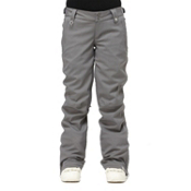 Roxy Canyon Womens Snowboard Pants, Cavern Grey, medium