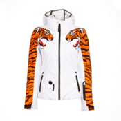 JC de Castelbajac Jane PR Womens Insulated Ski Jacket, Tiger, medium