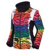 JC de Castelbajac Jane PR Womens Insulated Ski Jacket, Multicolor, medium