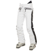 JC de Castelbajac Gaga STR Womens Ski Pants, White, medium