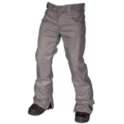 Air Blaster Sissy Pant Mens Snowboard Pants, Grey, medium