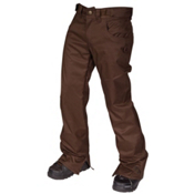 Air Blaster Sissy Pant Mens Snowboard Pants, Chocolate, medium