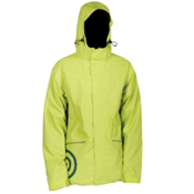 Air Blaster Javier Mens Shell Snowboard Jacket, Slime Oxford, medium