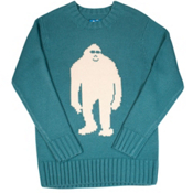 Air Blaster Sassy Sweater Mens Sweater, Teal, medium