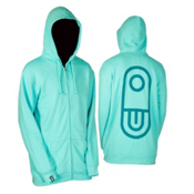 Air Blaster Airpill Hoodie, Turquoise, medium