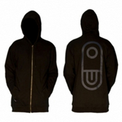 Air Blaster Airpill Hoodie, Black, medium