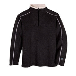 KUHL Europa 1/4 Zip Mens Mid Layer, Black, 256