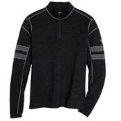 KUHL Team 1/4 Zip Mens Sweater, Smoke, medium