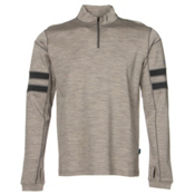 KUHL Team 1/4 Zip Mens Sweater, Oatmeal, medium