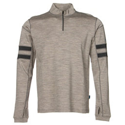 KUHL Team 1/4 Zip Mens Sweater, Oatmeal, 256