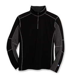 KUHL Revel 1/4 Zip Mens Sweater, Black-Steel, 256