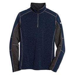 KUHL Revel 1/4 Zip Mens Sweater, Navy-Steel, 256