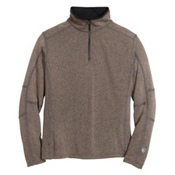 KUHL Revel 1/4 Zip Mens Sweater, Oatmeal, medium