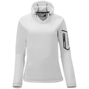 Salomon Spirit Womens Soft Shell Ski Jacket, White, medium