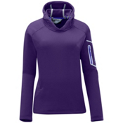 Salomon Spirit Womens Soft Shell Ski Jacket, Eggplant, medium